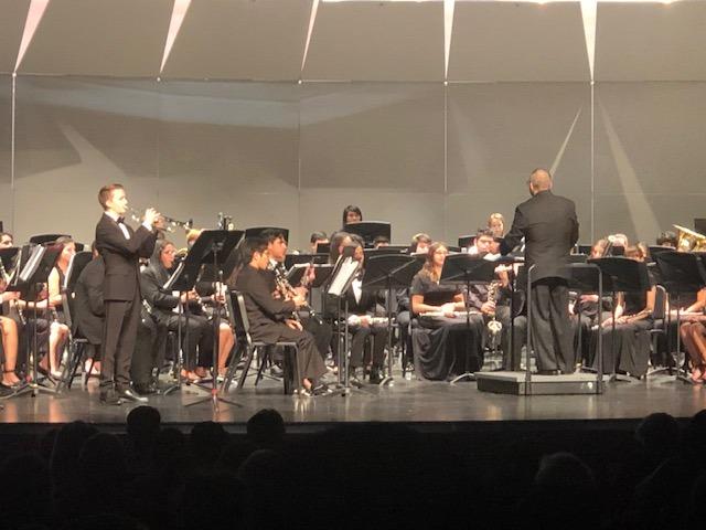 Riverside County High School Honor Band Debuts