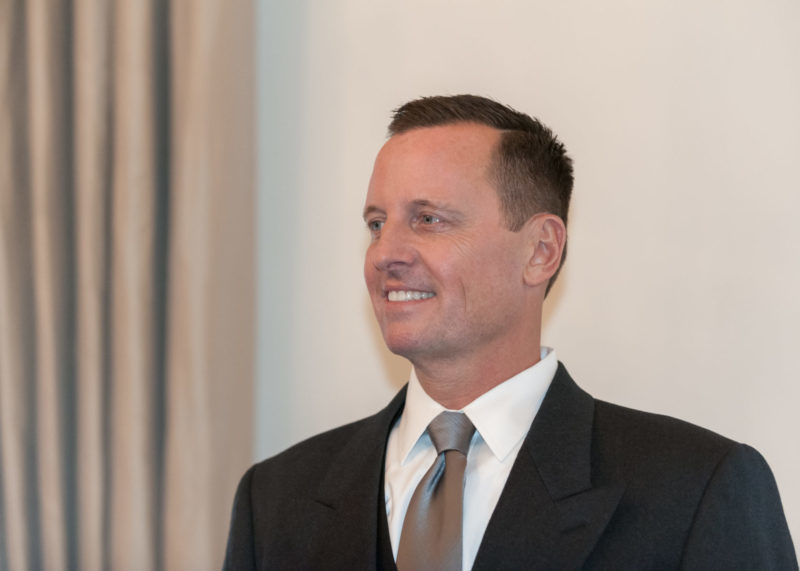 Grenell Named Acting Director of National Intel