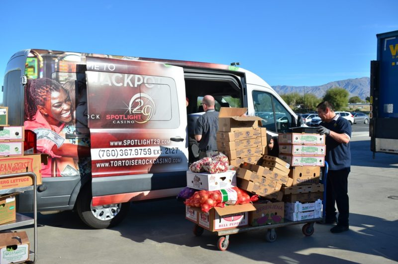 1,500 Pounds of Food Donated to Martha's Village