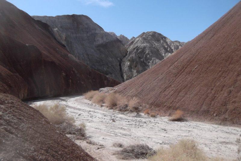 Hiking Trail leads through Coffee Bean Canyon