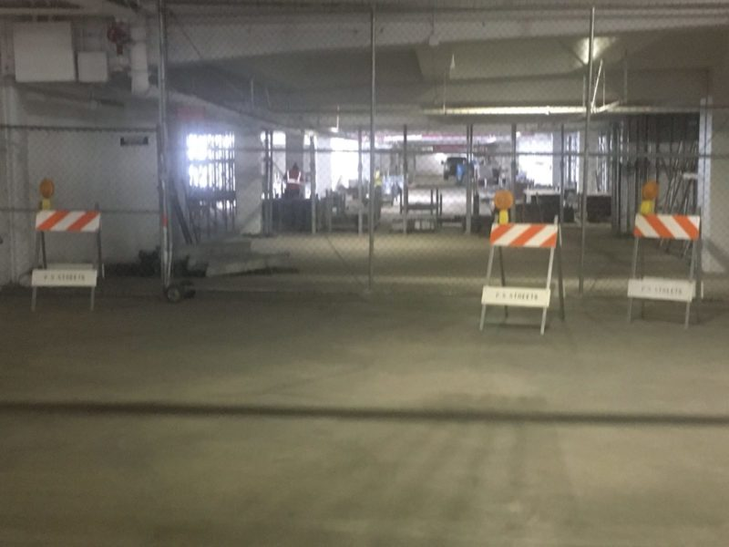Downtown Parking Structure to be Reinforced
