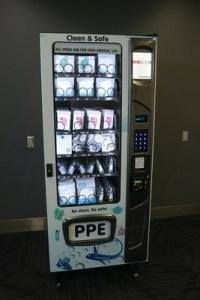 Ontario International Airport Adds PPE Kiosks