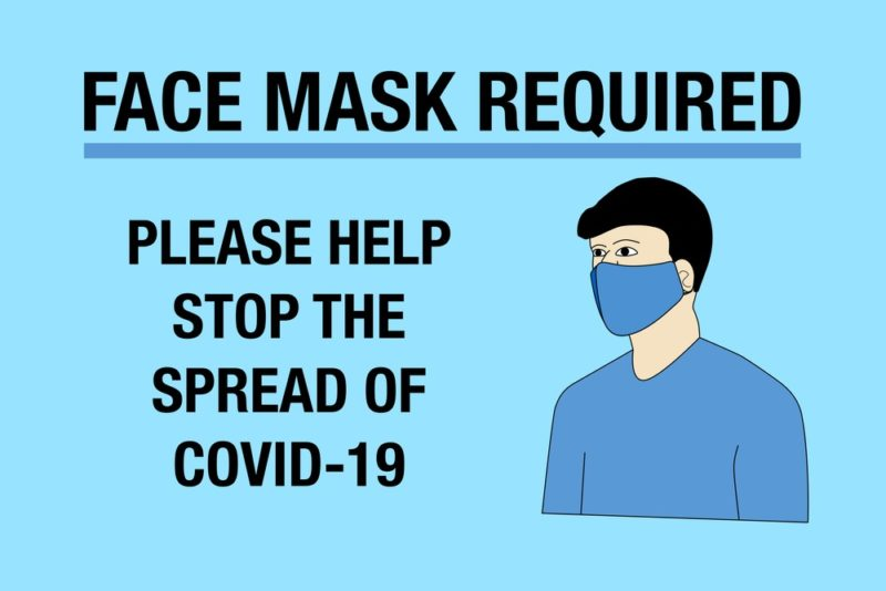 Businesses Must Post Face-covering Signage