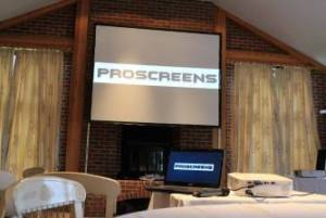 screen hire London from proscreen
