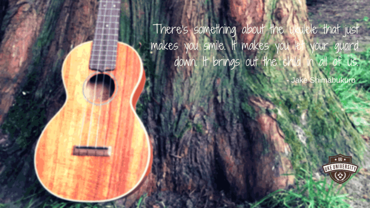 a ukulele quote by jake shimabukuro bring out the child in us