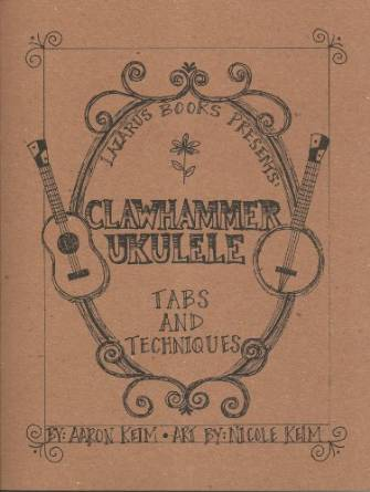 The cover of Clawhammer ukulele by Aaron keim