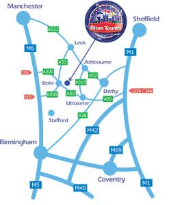 alton towers map