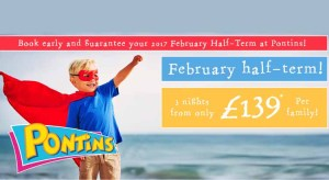pontins half term breaks