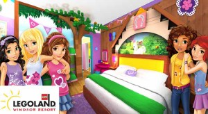 Legoland Hotel Deals -  Friends Themed Rooms from £40pp