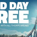 Thorpe Park 2nd Day Free Offer