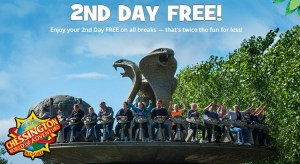 Chessington Resort Get Your 2nd Day Free on all Breaks