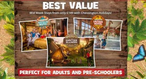 Chessington World of Adventures Breaks only £149 plus get your second day FREE