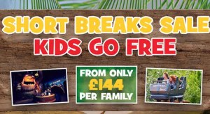 Chessington World of Adventures Kids go Free Summer Offer