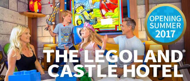 New Legoland Castle Hotel
