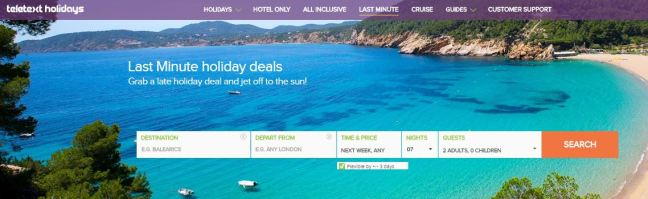 Whether you are looking for a last minute summer getaway or a late hotel break, Teletext holidays have some great value breaks waiting for you to book with big savings.