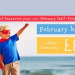 Pontins 2017 February Half Term Breaks from £139 for 3 Nights