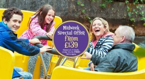Alton Towers Special Midweek Breaks from £139 per Family