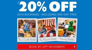 LEGOLAND Holidays Up To 20% Off 2018 Stays from £41pp
