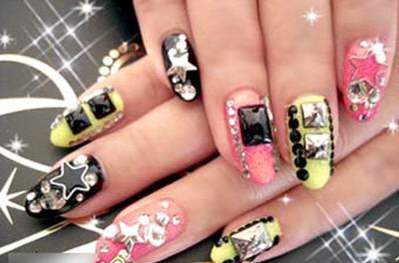 Anese Nail Art 4 20 Best For Long Nails 2017 16