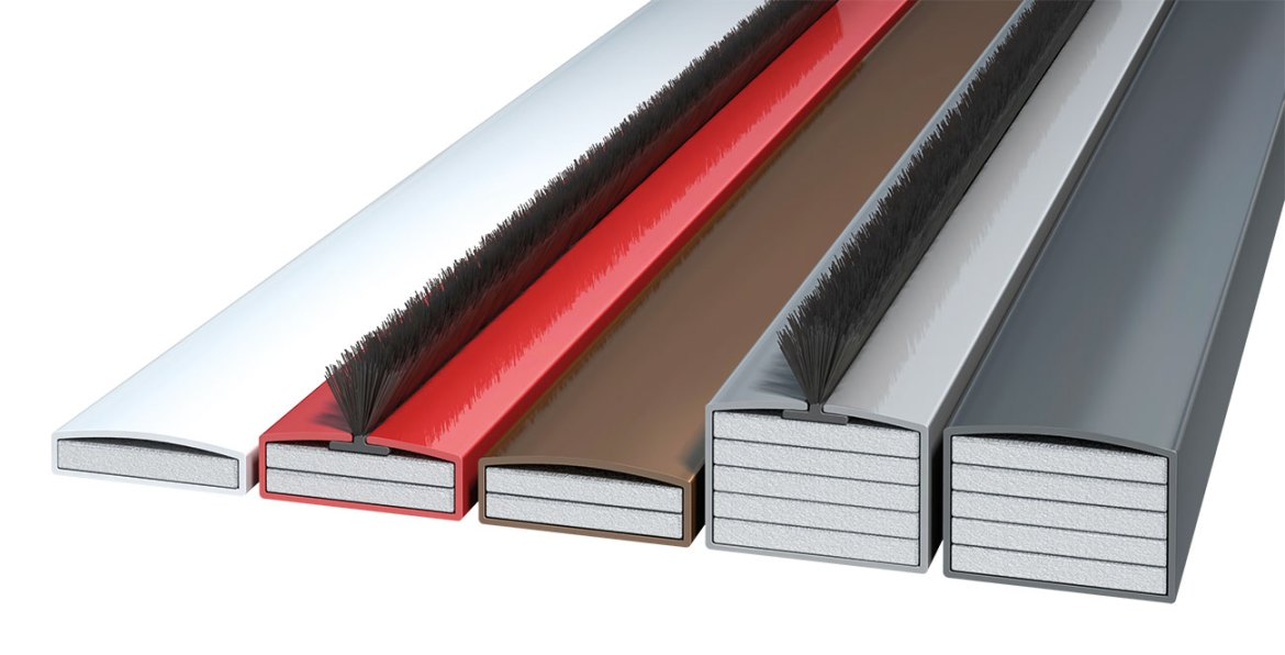 Fire seals incorporating a hydrated sodium silicate intumescent in a purpose-designed uPVC sleeve – primarily intended for installation in fire doors, panelled doors and frame-to-wall gaps.