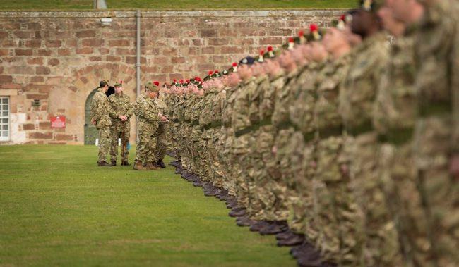 3 Scots Medal Ceremony with HRH Prince Charles