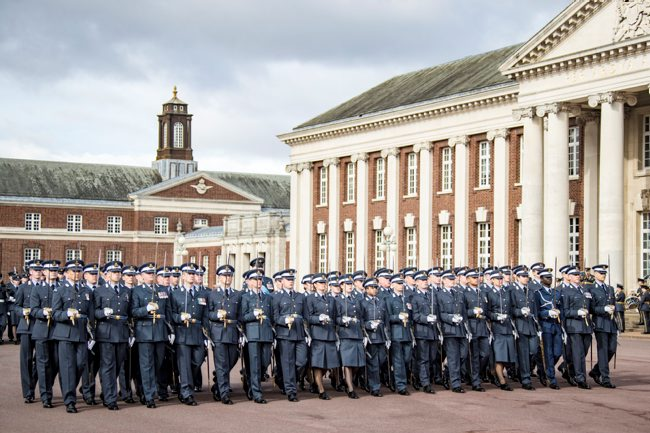 RAF Joint Graduation Rehearsals