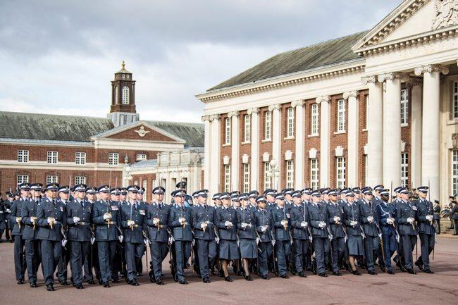 RAF Joint Graduation Rehearsals