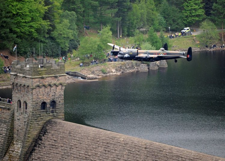 Dambusters Hero's wings return to the skies of Lincolnshire