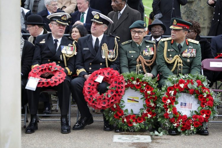 Commonwealth troops honoured at Memorial Gates ceremony