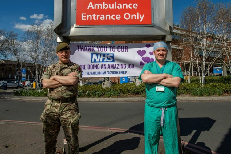 Soldier & Surgeon Twin brothers on front line COVID-19