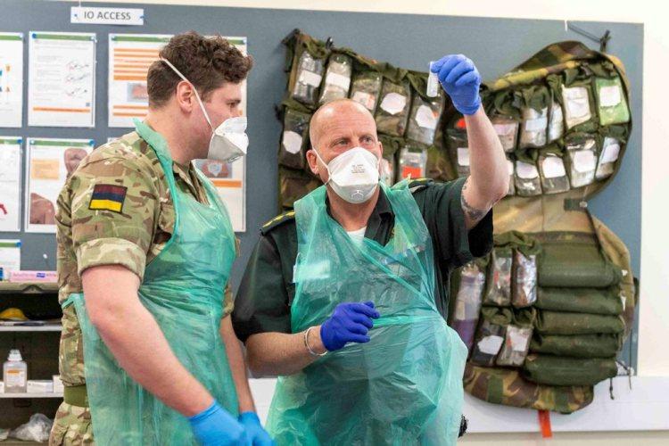 16 Medical Regiment support East of England Ambulance Service – MACA