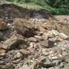 Large sandstone blocks