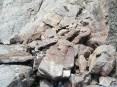 Large blocks of shale