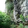 Large rock outcrop