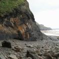 Shale cliff