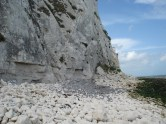 Chalk boulders