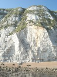 The cliffs - note the person for scale