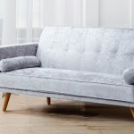 Modern Miami Crushed Velvet Sofa Bed Uk Furniture 4u