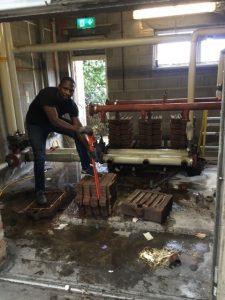 Commercial boiler installer