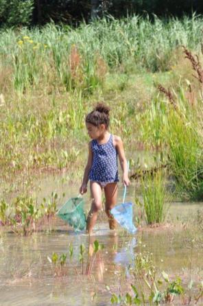 frong pond little girl