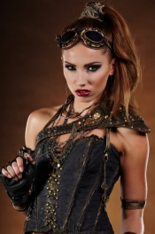 Womens Steampunk Hairstyles Designed To Be