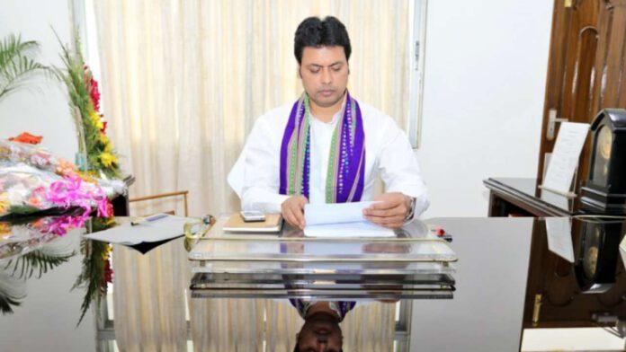 Tripura CM Biplab
