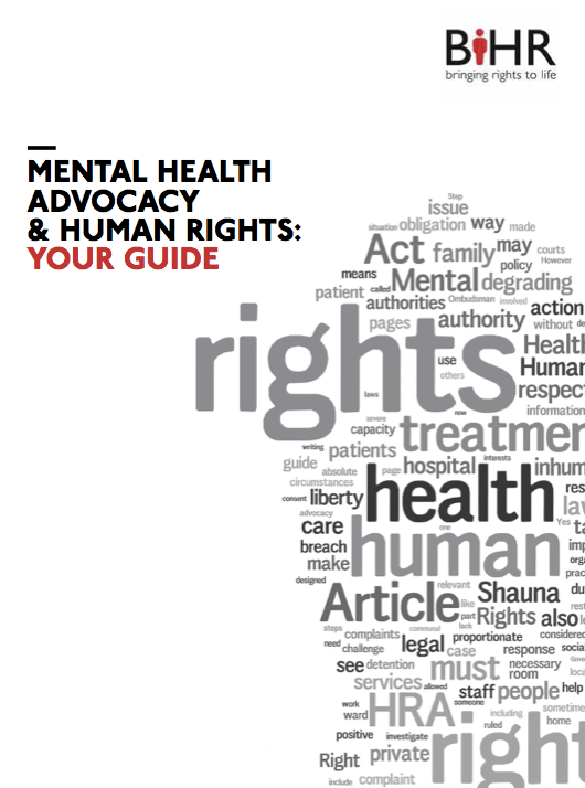 New Guide to Mental Health Advocacy and Human Rights - UK ...