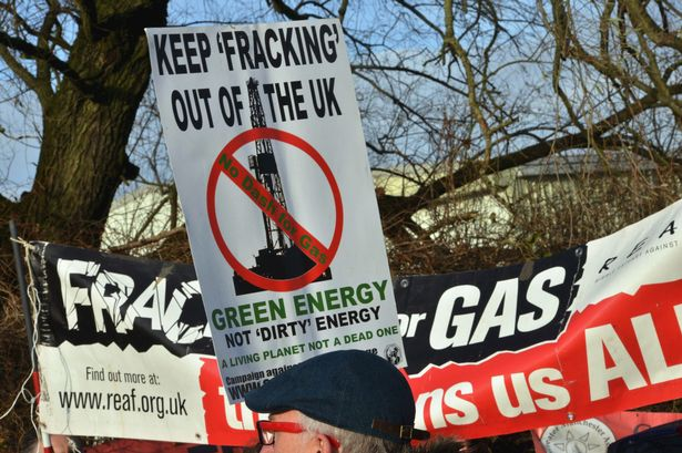 Anti Fracking Protesters Convention Rights Against Private Landowners