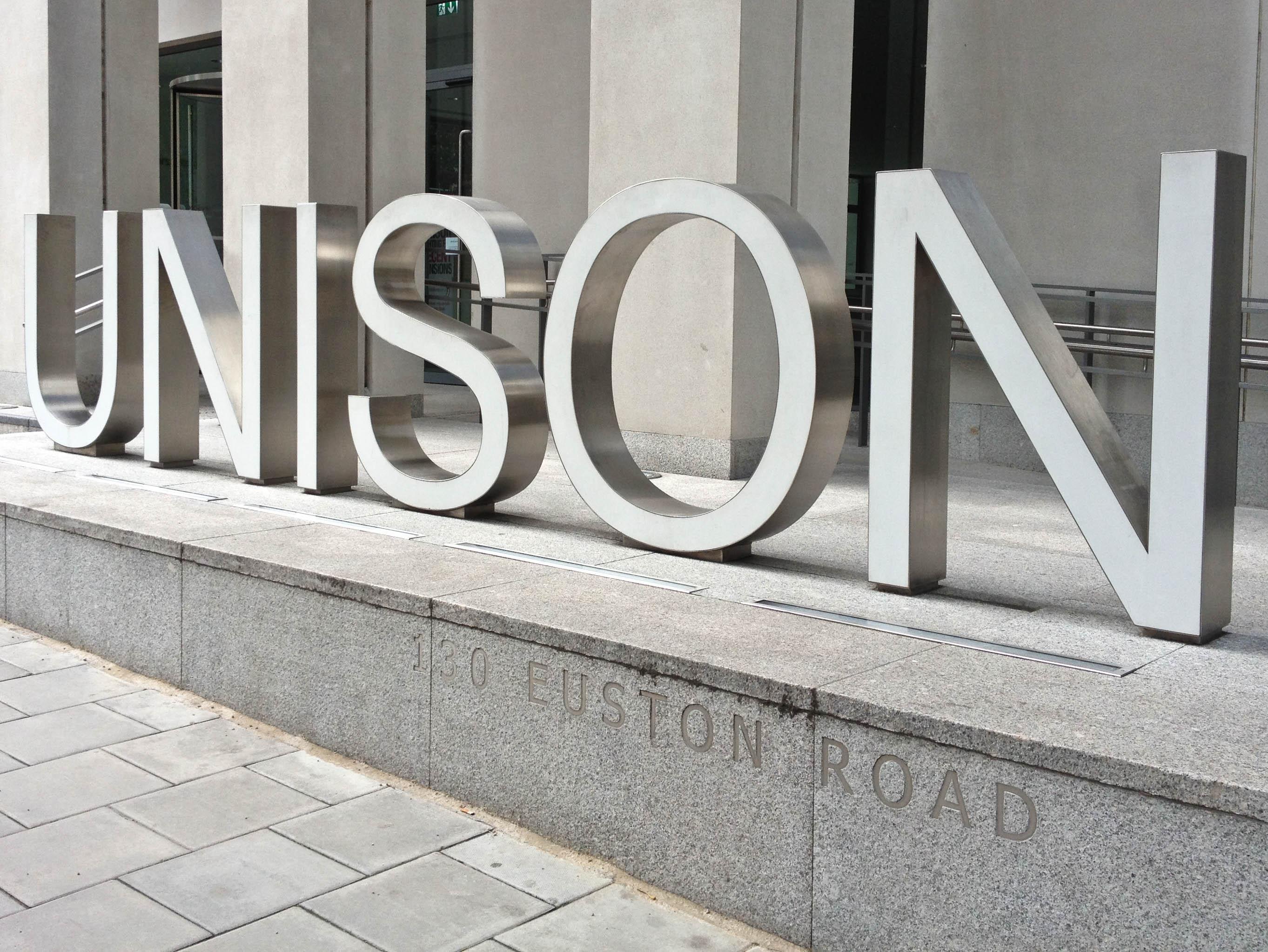 UNISON-sign-july-12