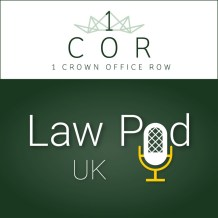 1COR podcast law pod uk logo