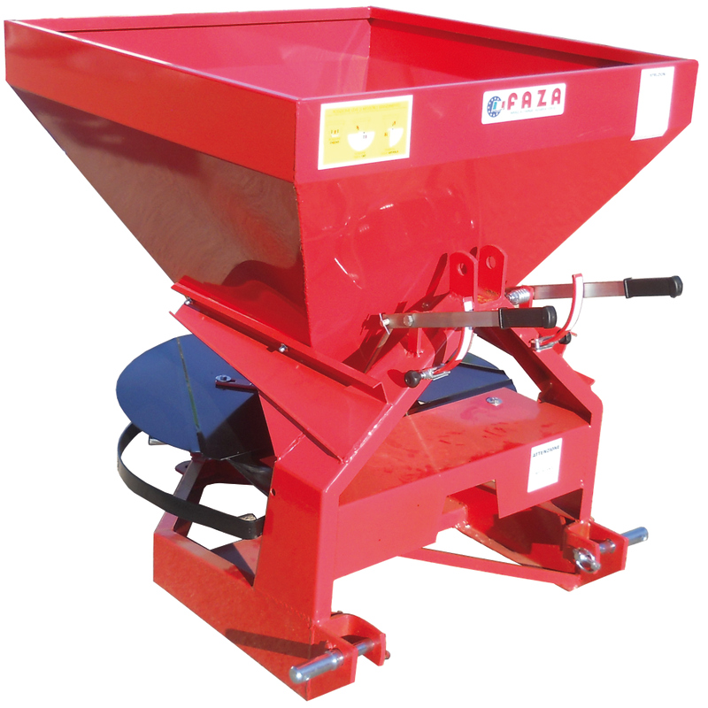 "FAZA Square hopper fertilizer spreader ""SP"" model"