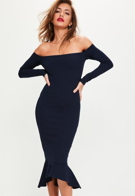 This is one of the best off the shoulder occasion dresses!