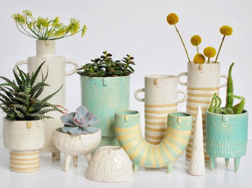 Take a look at this spring apartment decor!