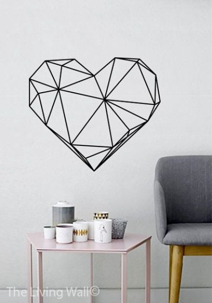 This is one of the best wall art ideas for bedroom walls!